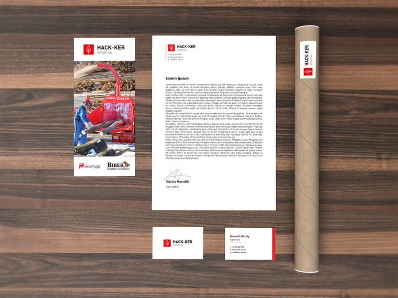 Hack-Ker Kft. – corporate identity