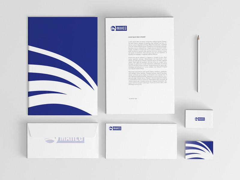 MAHEG – corporate identity