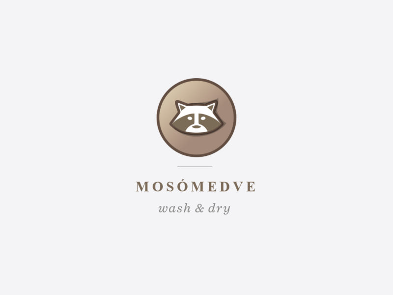 Mosómedve laundry identity and web
