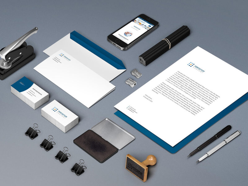 Perfektum Csoport – corporate identity